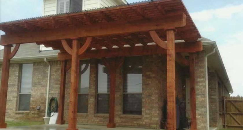Build Covered Patio Bricks