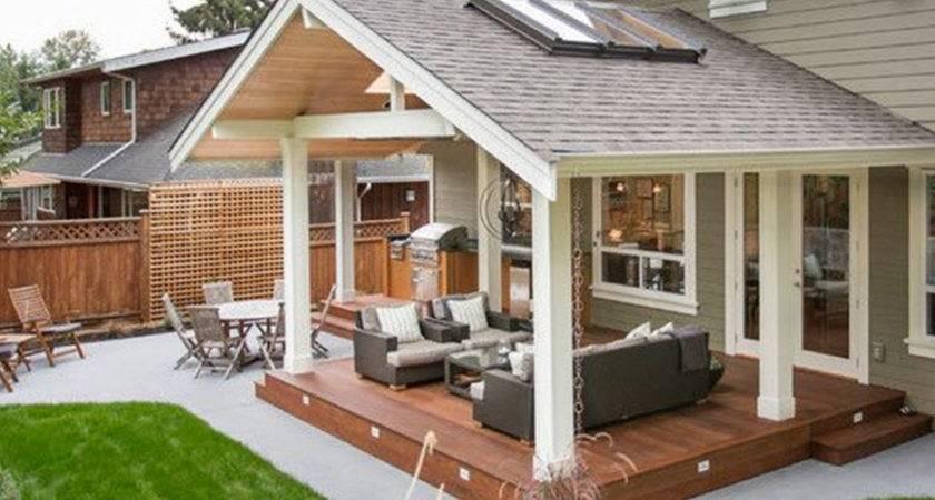 Build Covered Patio Design Idea