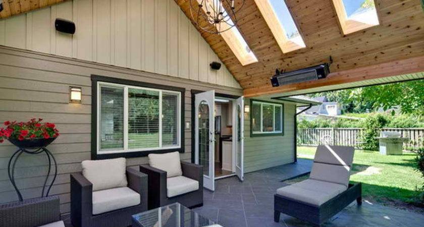Build Covered Patio Home Design