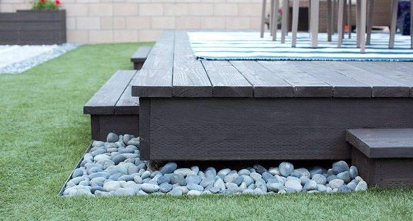 Build Floating Deck Home Depot Diy