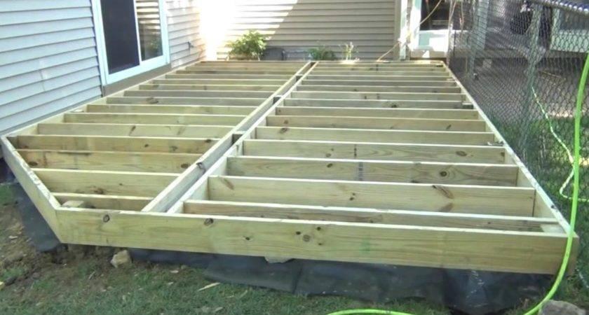Build Ground Level Deck