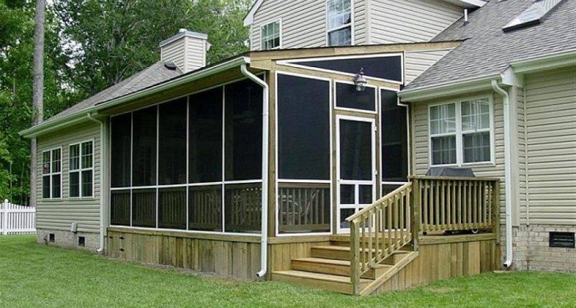 Build Modern Luxury Screen Porch Construction