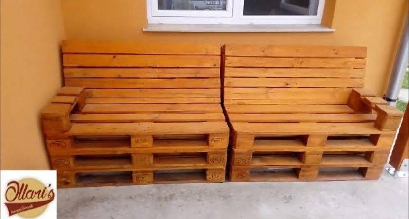 Build Pallet Sofa Step Doovi