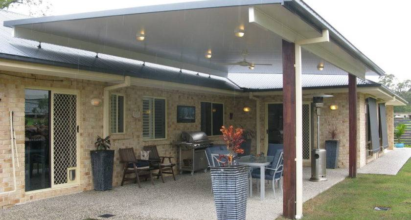 Build Patio Cover Attached House Home Design Ideas