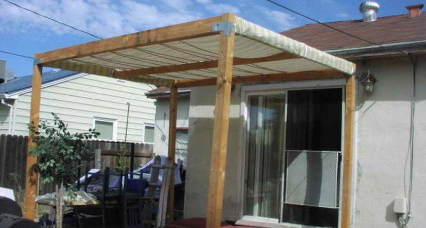 Build Patio Cover Step Building