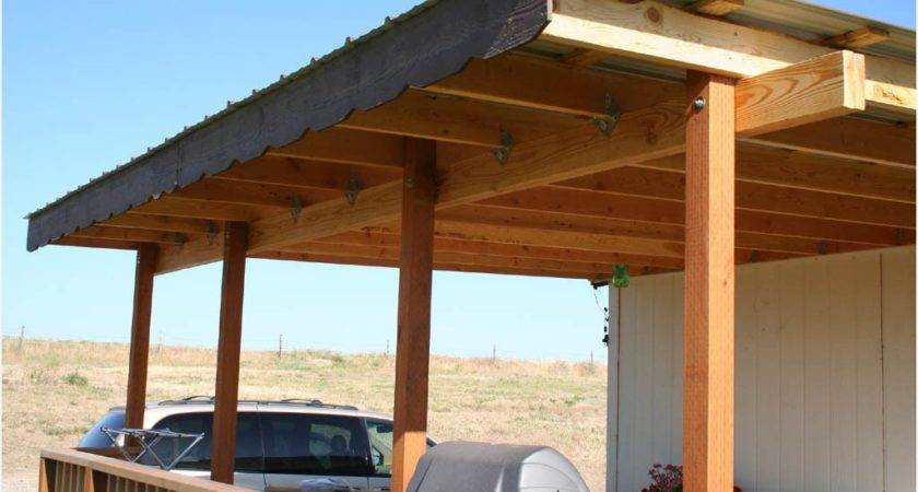 Build Patio Cover Step Melissal Gill