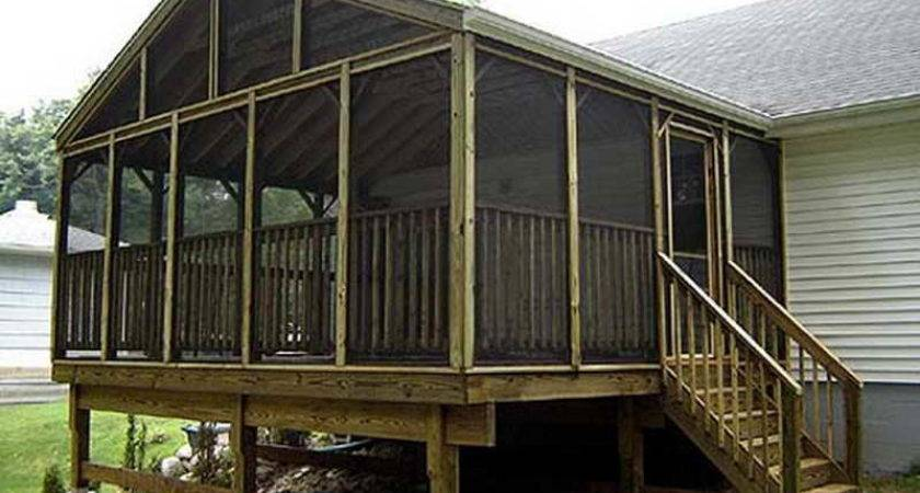 Build Screened Porch Joy Studio Design
