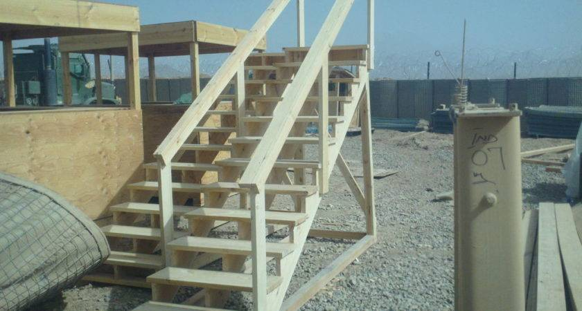 Build Self Standing Staircase Ways Survive