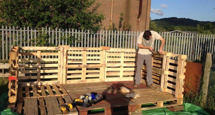 Build Shed Out Wood Pallets Quick