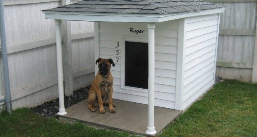 Build Simple Dog House Out Some Wooden Pallets Pallet