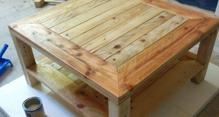 Build Small Wooden End Table Furniture Plans