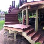 Build Standing Wooden Steps