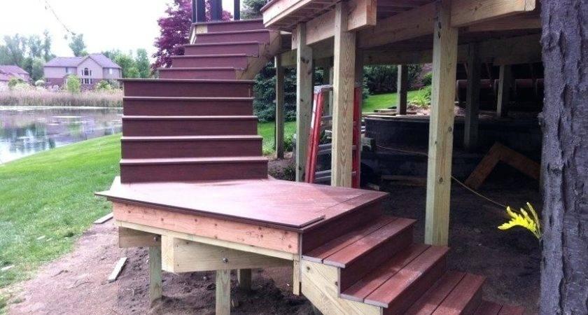 Build Standing Wooden Steps