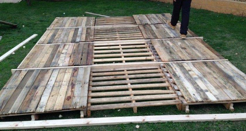 Build Transportable Pontoon Raft Out Old