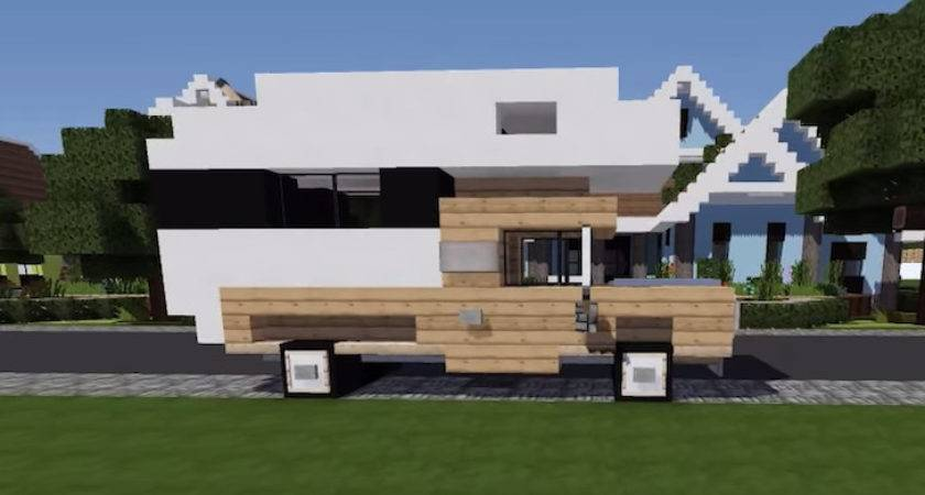 Build Truck Camper Minecraft Complete