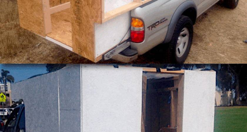 Build Your Own Homemade Diy Truck Camper Mobile
