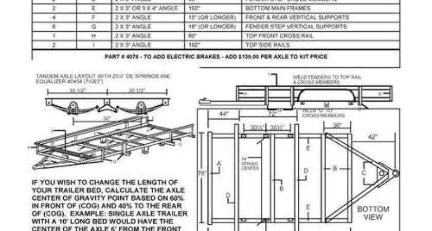 Build Your Own Trailer Kit Utility