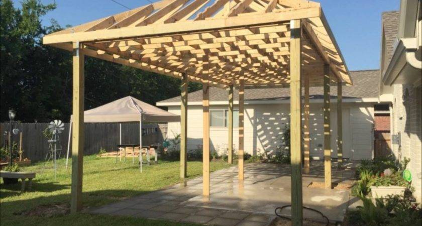 Building Covered Patio Build Calissto