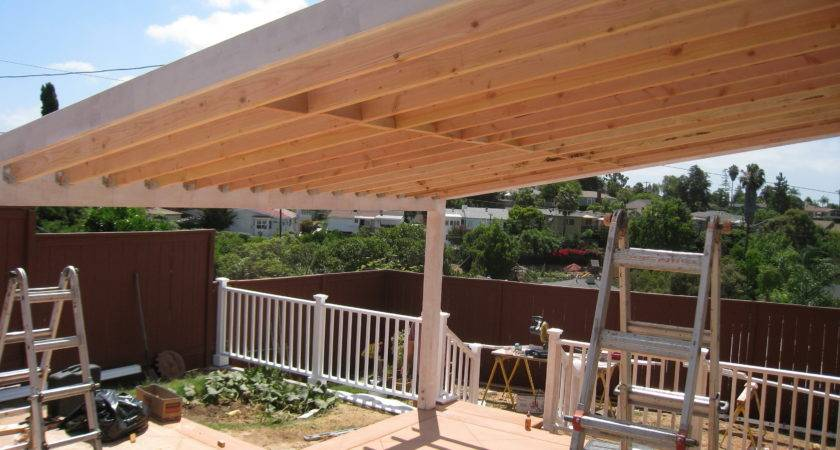 Building Covered Porch Roof Home Design Ideas