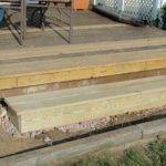 Building Deck Steps Box Design Ideas