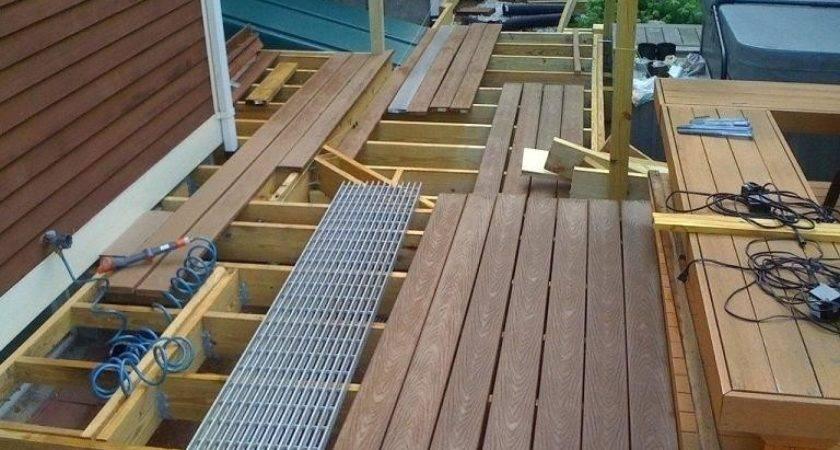 Building Ground Level Deck Simplir
