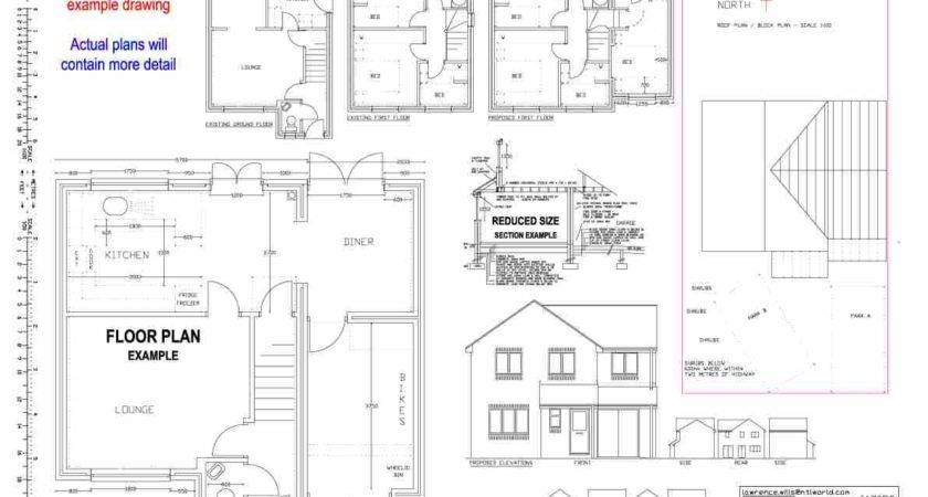 Building Plans Drawn Home House Extension Drawings Designs