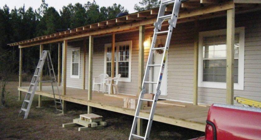 Building Porch Dublewide Joy Studio Design