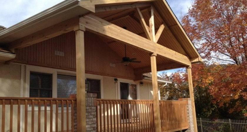 Building Porch Roof