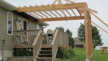 Building Roof Over Deck Style Fence Futons