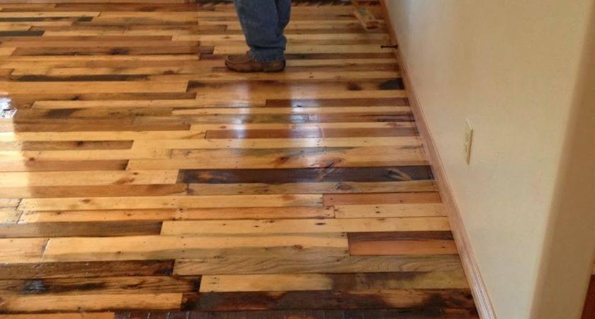 Building Shall Art Pallet Wood Flooring