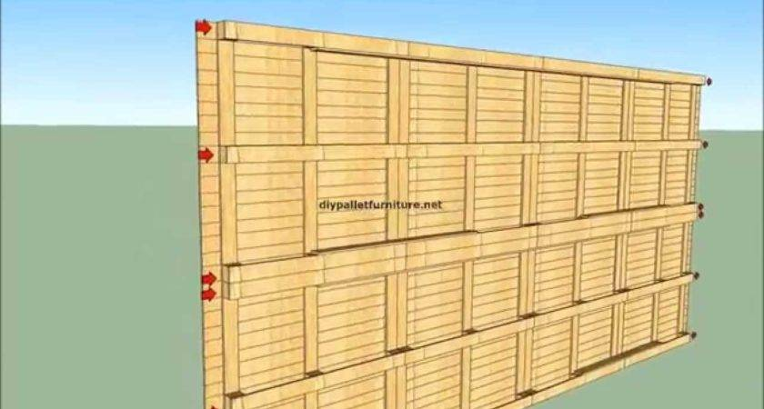 Built House Pallets Youtube