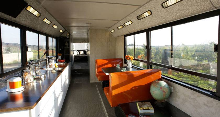 Bus Converted Into Luxury Home