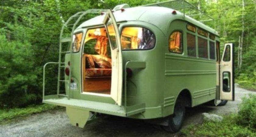 Buses Converted Into Gorgeous Mobile Homes Perfect