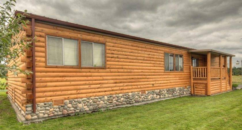 Cabin Siding Manufactured Homes Don Like