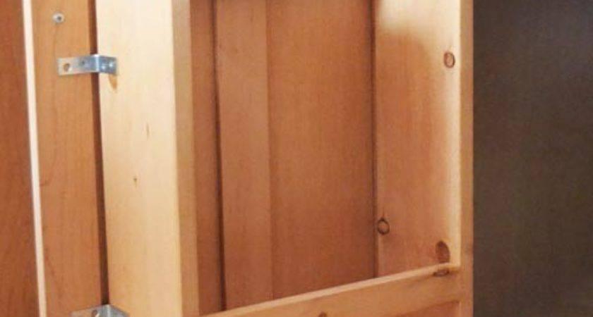 Cabinet Storage Door Paper Towel Holder Shelf
