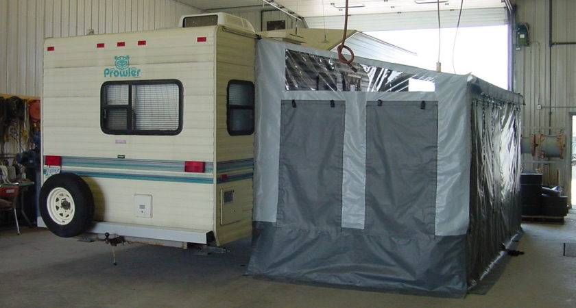 Camper Awnings Add Rooms Winkler Covers Containment