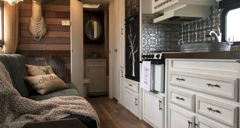 Camper Remodel Ideas Renovating Travel Trailers