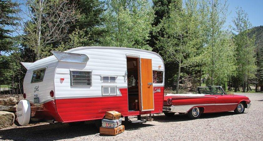 Camping Vintage Style Trailer Life