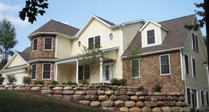 Can Have Brick Modular Home Yes Stone Log Cedar Siding