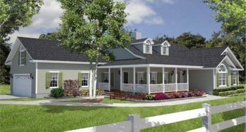 Cape Cod House Plans Wrap Around Porch Front