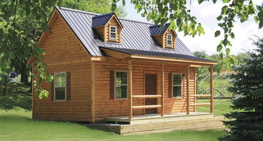 Cape Cod Tiny Log Cabins Manufactured