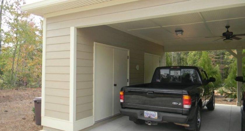 Carport Storage Upgrade Outdoor Landscaping Ideas