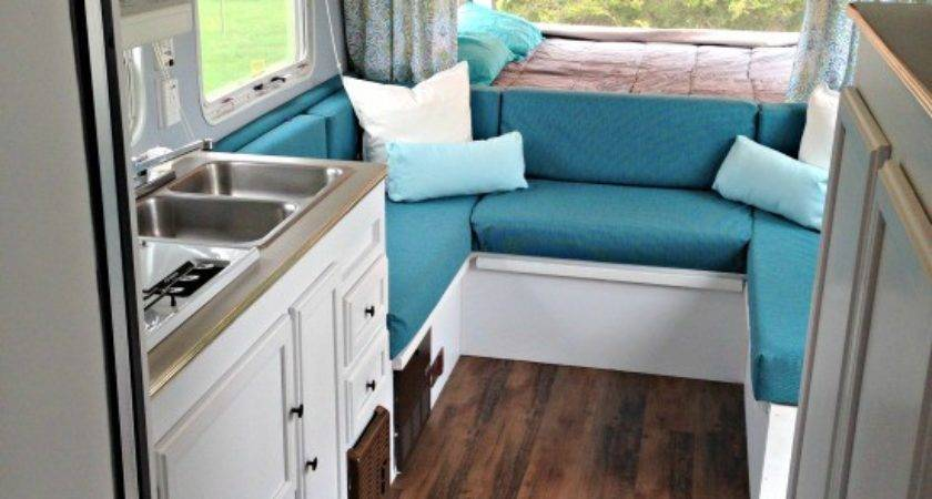 Cassie Hybrid Travel Trailer Makeover Pop Princess