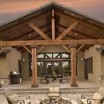 Cedar Porch Columns Style Bistrodre Landscape