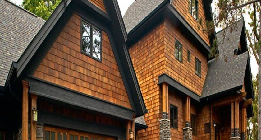 Cedar Shake Siding Rustic Staggered