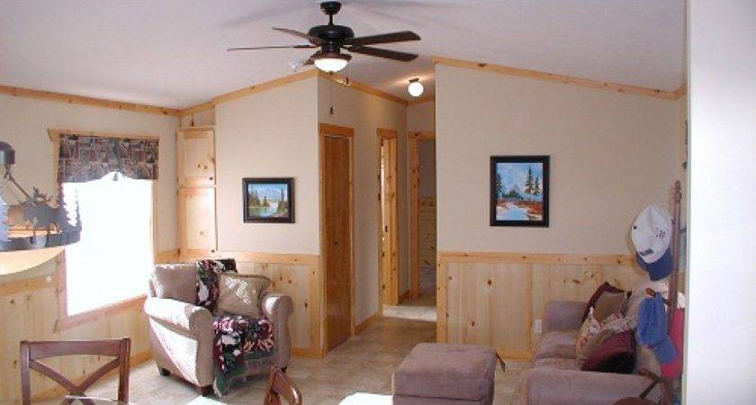 Ceiling Fan Dining Room Single Wide Mobile Home Floor