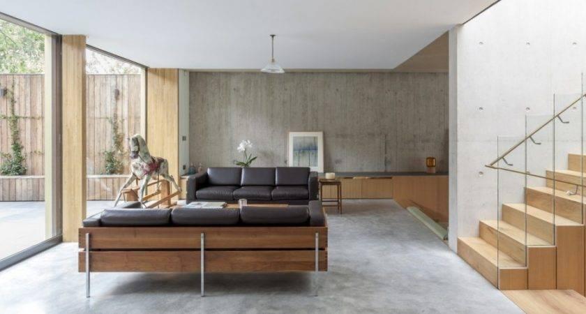 Cement Floor House Houses Flooring Ideas Blogule