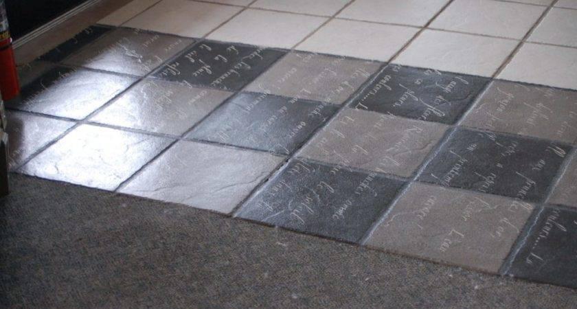 Chalk Paint Over Ceramic Tile Floor Can