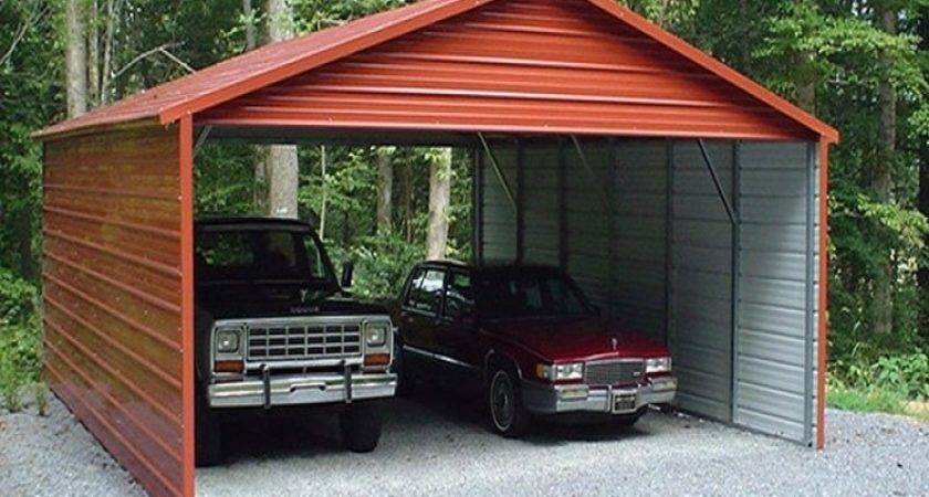 Cheap Carports White Galvanized Steel