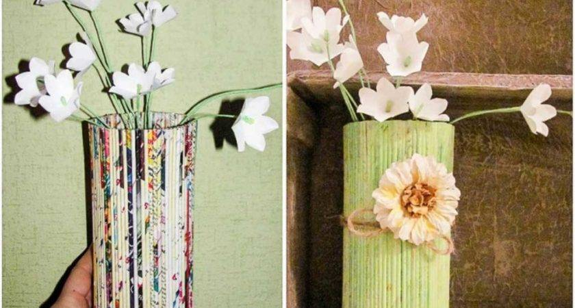 Cheap Diy Home Decor Beautiful Creative Paper Vases